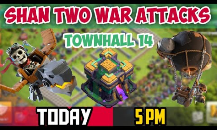Clan war Attack , Two war Attack , clash of clans Tamil #Shan