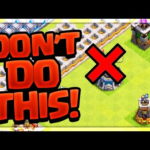 DO NOT Make This Mistake in Clash of Clans! No Cash Clash #197