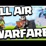 AIR TAKES OVER in Clash of Clans!