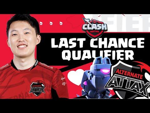 ALTERNATE ATTAX LAST CHANCE QUALIFIER!  Clash Mstrs
