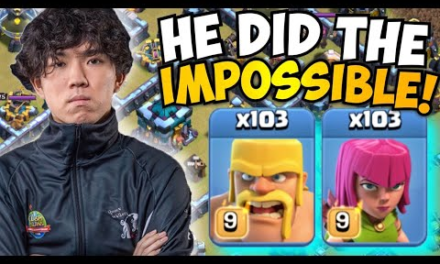 KLAUS TRIPLED A MAX TH13 IN WAR WITH BARCH?! Most Insane Attack I've EVER SEEN!!!! Clash of Clans