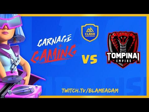 TOMPINAI EMPIRE vs CARNAGE GAMING