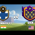 India vs USA Live Clan War Clash of Clans – COC