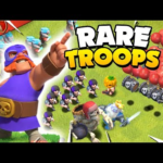 Footage of EVERY Limited Edition Troop for Clash of Clans!