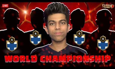 India vs China Live Clan War Before World Championship Clash of Clans – COC