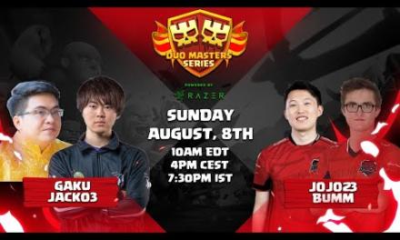 GAKU & JACK03 vs JOJO & BUMM powered by razer