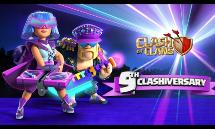 It's PARTY TIME! Clash of Clans 9th Anniversary