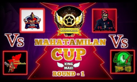MAHATAMILAN CUP 🔥   ROUND – 1   CLASH OF CLANS TAMIL   KINGMAXI IS LIVE!
