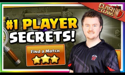 SECRETS from the #1 PLAYER in Clash of Clans