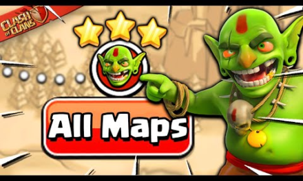Clash of Clans Speedrun in Record Time for All 75 Goblin Maps!